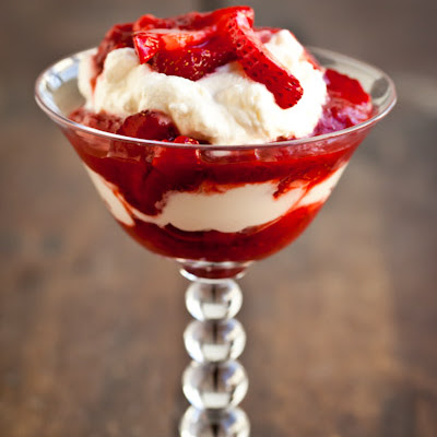 Strawberry-Rhubarb Fool