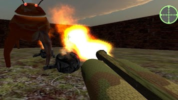Screenshot of Robot Zombie Shooter