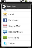 Screenshot of Shaddapp