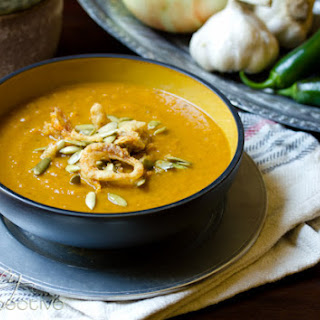 Spicy Southwest Pumpkin Soup