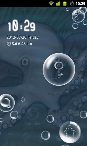 Bubbles Theme GO Locker