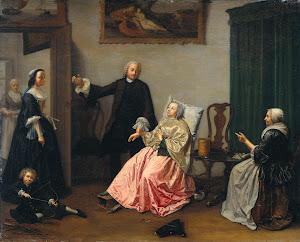 RIJKS: Elisabeth Geertruida Wassenbergh: painting 1760