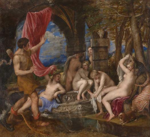 Tiziano, Diana e Atteone