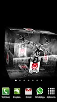 Screenshot of 3D Beşiktaş Live Wallpaper