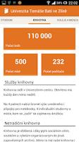 Screenshot of Studuj UTB