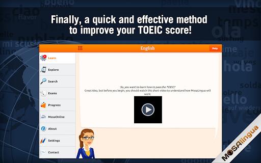 Learn TOEIC Vocabulary - screenshot