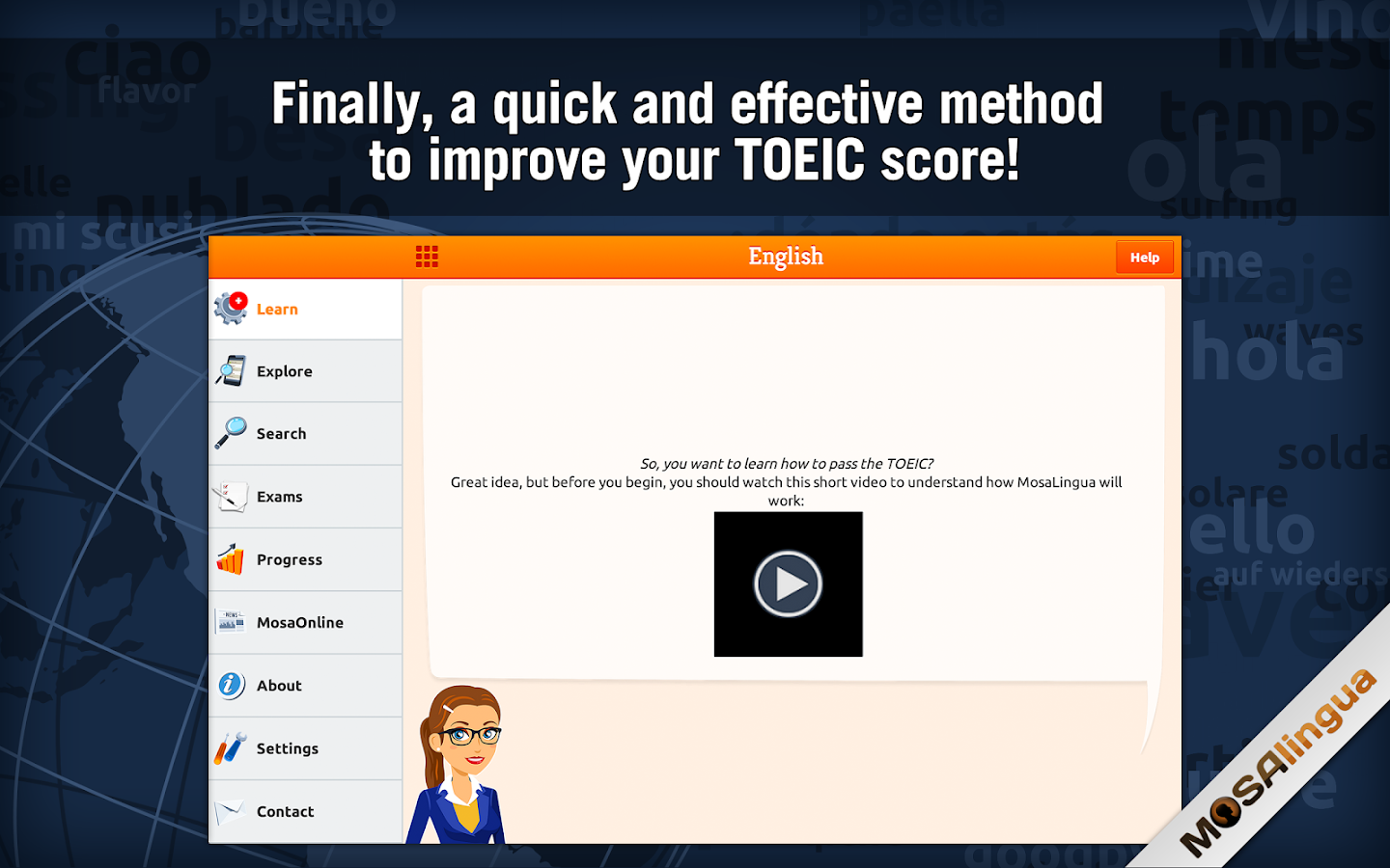 Learn TOEIC Vocabulary Screenshot 5