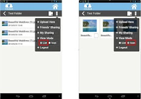 Screenshot of TFolder