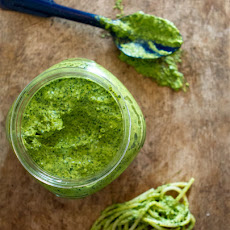 Winter Greens Pesto
