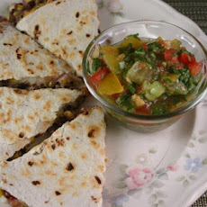 Quick and Healthy Black Bean Quesadillas