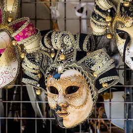 pick your mask by Vibeke Friis - Artistic Objects Clothing & Accessories ( masks,  )