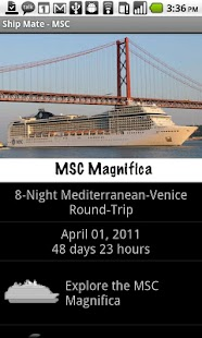 Ship Mate - MSC Cruises - screenshot