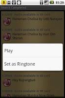 Screenshot of Hanuman Chalisa & Aarti Audio