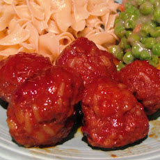 Momz's Sweet and Sour Meatballs