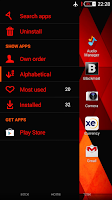 Screenshot of eXperianZ Theme - Triangles