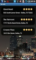 Screenshot of Dallas Travel Guide