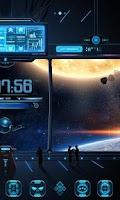 Screenshot of Space Trip GO Dynamic Theme