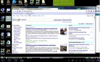 Screenshot of org.crossloop.androidVNC