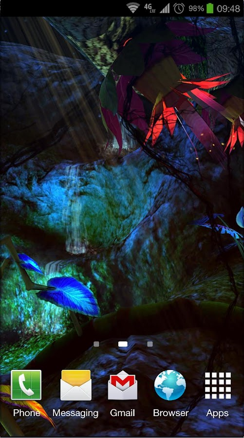 Alien Jungle 3D Live Wallpaper Screenshot 3