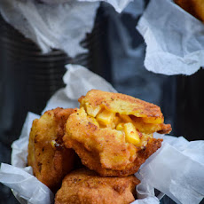 Homemade Chipotle Cheddar Corn Nuggets