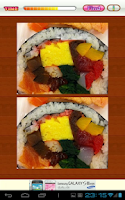 Screenshot of Find Differences Japanese Food