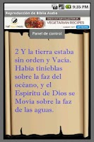 Screenshot of Biblia Audio en Español
