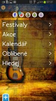 Screenshot of Concerts Events Festivals
