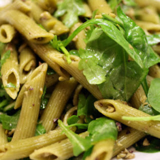 Green Tapenade Pasta Salad