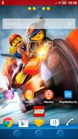 Screenshot of Xperia™ The LEGO® MOVIE Theme