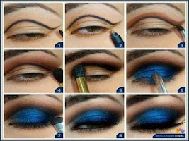 Screenshot of Makeup your Eyes Step by Step