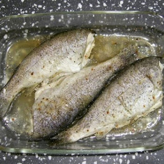 Two Ingredient Baked Trout