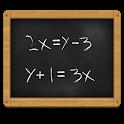 Solver sistema de equações icon