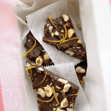 Chocolate-Orange Hazelnut Bark