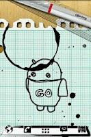 Screenshot of Notebook GO Launcher Theme