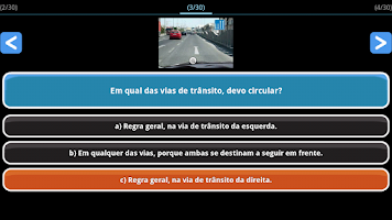Screenshot of Exame Código Portugal Lite PT