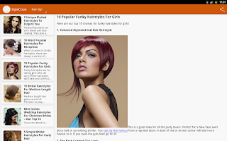 Screenshot of StyleCraze: Makeup Beauty Tips
