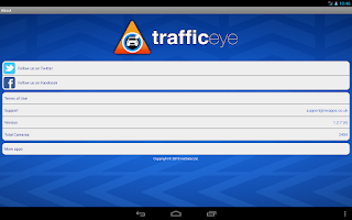 Screenshot of TrafficEye