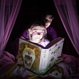 Books+youth+imagination= Better World by Eric Plourde - People Family ( books girls wife bed imagination )