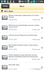 Monroe Community College - screenshot
