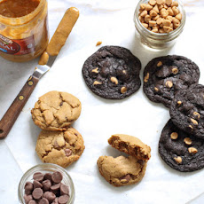 Gluten-Free Chocolate Cookies With Peanut Butter Chips