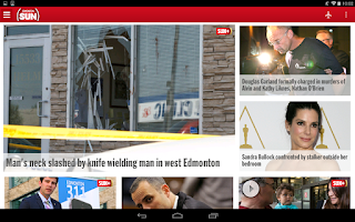 Screenshot of Edmonton SUN+
