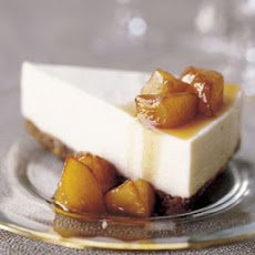 Mascarpone Cheesecake with Quince Compote