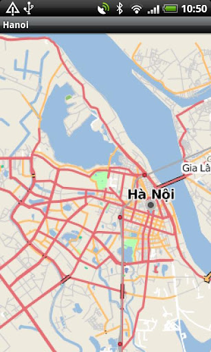 Hanoi Street Map