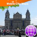 Guatemala City Street Map icon