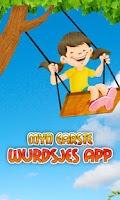 Screenshot of Myn earste wurdsjes app
