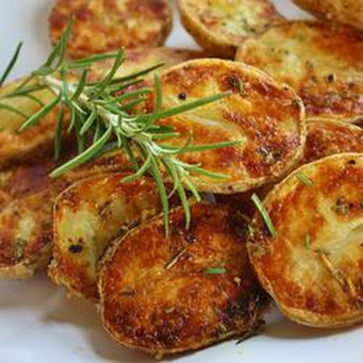 Kristen's Parmesan Roasted Potatoes