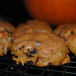 Pumpkin Raisin Cookies