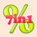 EZ Percent #7in1 for Android. icon