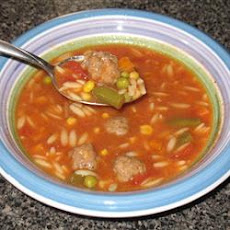 Hearty Meatball Soup II