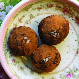 Chocolate and Black Pepper Goat Cheese Truffles